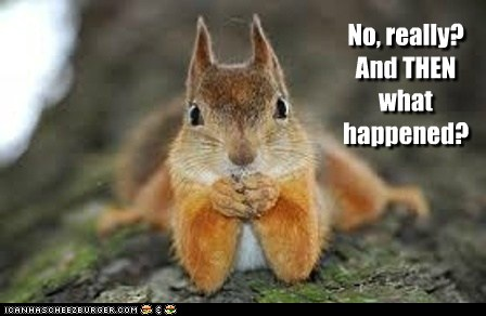And Then What Happened Squirrel