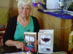 Kathleen Delaney with Books