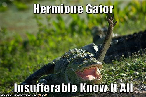 Know It All Hermione Gator