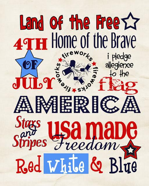 Fourth of July Poster 2