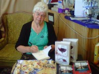 Kathleen Delaney with Books 2