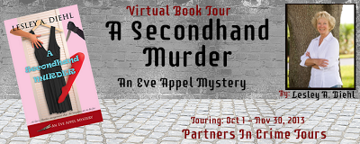 A Secondhand Murder Tour Banner