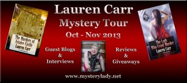 Lauren Carr Mystery Tour Banner