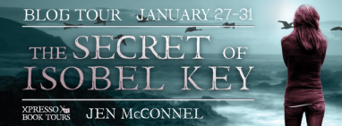The Secret of Isobel Key Tour Banner