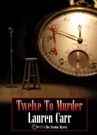 Cover Reveal: Twelve to Murder,  coming February 2014