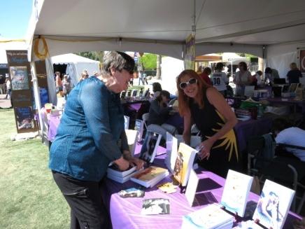 Lala at Tucson Festival of Books 3/16/14