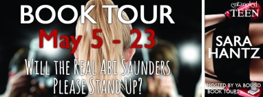 Will the Real Abi Saunders Please Stand Up Tour Banner