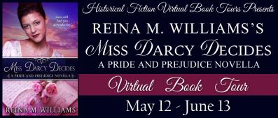 Miss Darcy Decides Tour Banner
