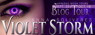 Violet Storm Tour Banner