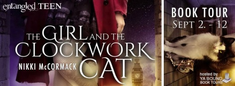 The Girl and the Clockwork Cat Tour Banner