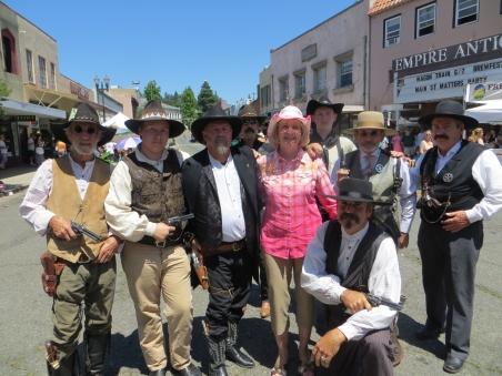 Cindy and the Wagon Train Main Street Dudes