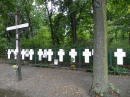 Crosses Near Brandenburg Gate