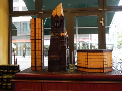 Chocolate Kaiser Wilhelm Memorial Church
