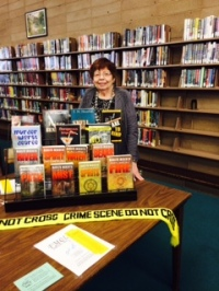 Marilyn (F.M.) at Madera Library