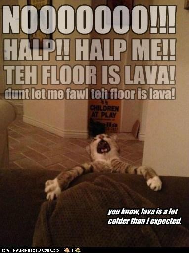 Lava Kitty
