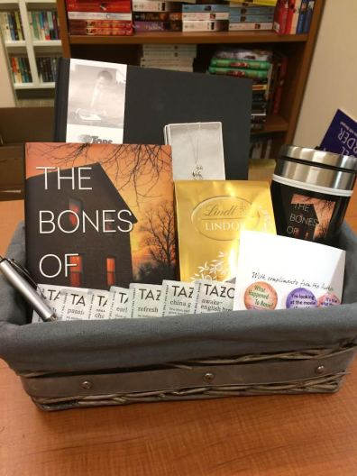 The Bones of You Giveaway Basket