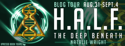 HALF The Deep Beneath Tour Banner