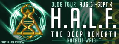 HALF The Deep Beneath Tour Banner