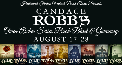 Owen Archer Series Book Blast Banner