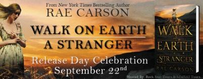 Walk on Earth a Stranger Blitz Banner
