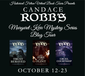 Margaret Kerr Mystery Series Blog Tour Banner
