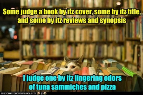 Kitty Judging Book Covers