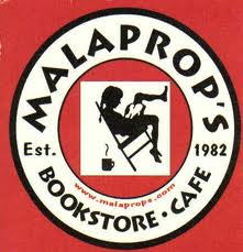 Malaprops Bookstore Cafe Logo