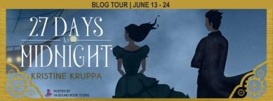 27 Days to Midnight Tour Banner