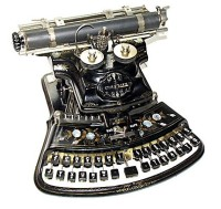 Gerrie Ferris Finger Qwerty Machine
