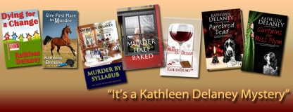 Kathleen Delaney Books Banner