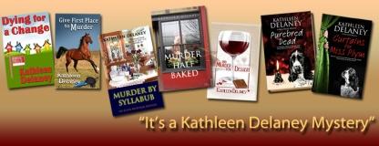 Kathleen Delaney Books Banner