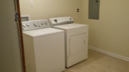 Renovations Washer and Dryer Pre-Hookup