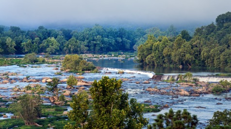 James River in Richmond, VA